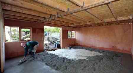 Aanbreng betonvloer