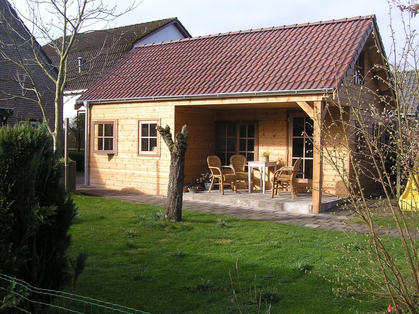 prefab houten tuinhuis