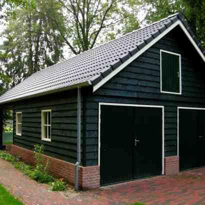 prefab paardenstal garage