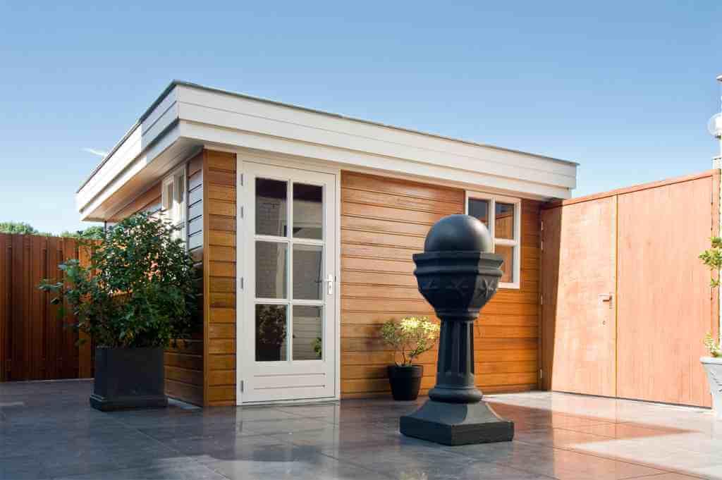 Tuinhuis gerealiseerd door ABS Bouwsystemen